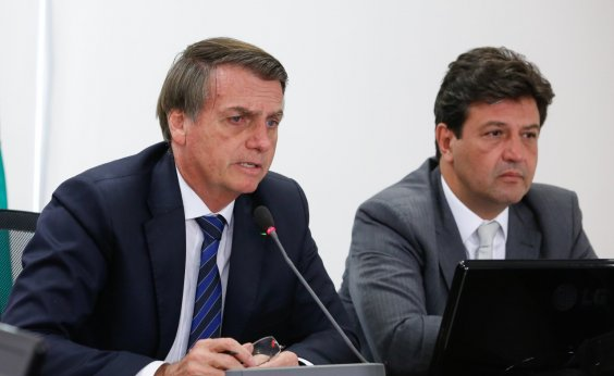 [Jair Bolsonaro decide demitir ministro Mandetta, diz jornal]