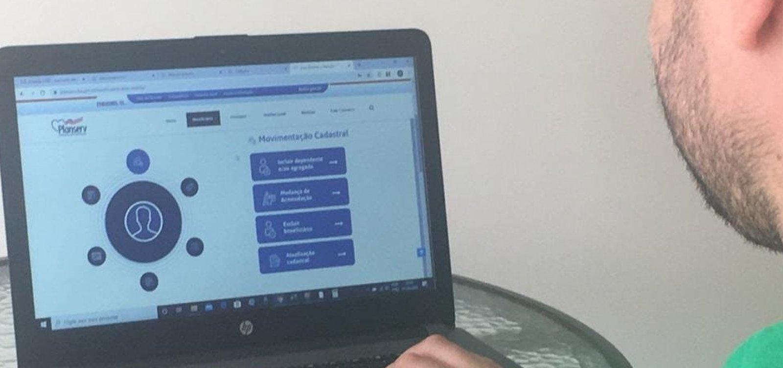 [ Planserv disponibiliza recurso de cadastro online para beneficiários]