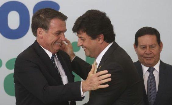 [Vice-presidente Mourão diz que Mandetta continua no Ministério da Saúde]