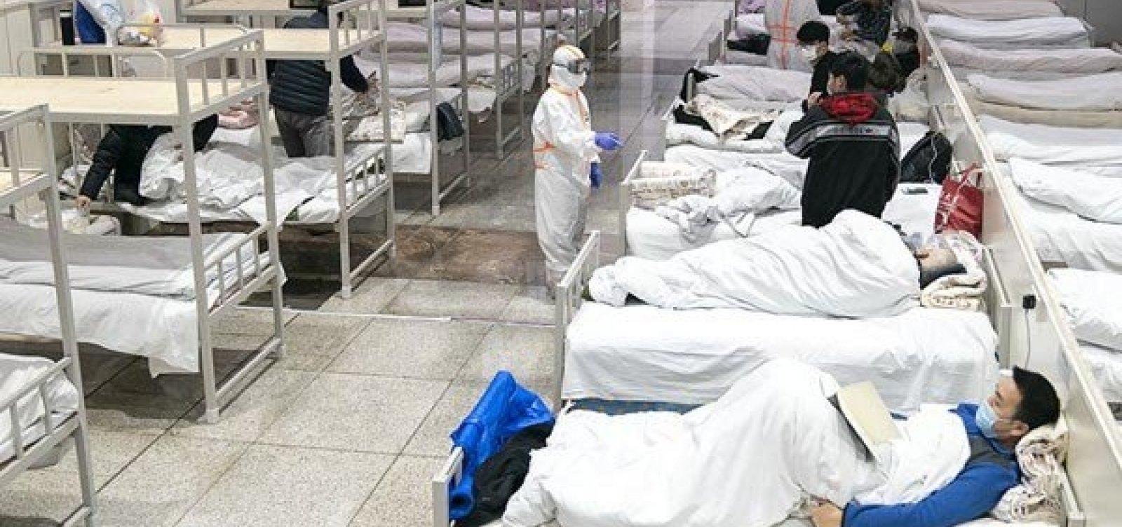 [China registra 1º dia sem mortes por Covid-19]
