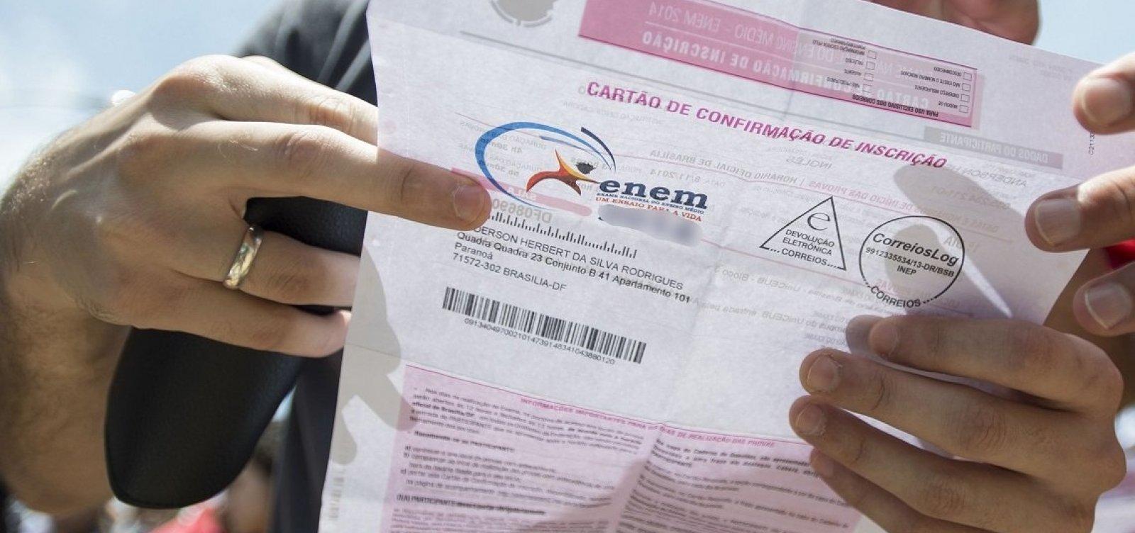 [Inep registra 670 mil pedidos de isenção de taxa de inscrição para Enem 2020]
