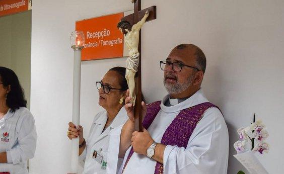 [Capelão do Hospital São Rafael testa positivo para Covid-19]