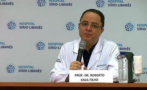 [Cardiologista Roberto Kalil fez uso de cloroquina em tratamento contra orientação de seu médico]