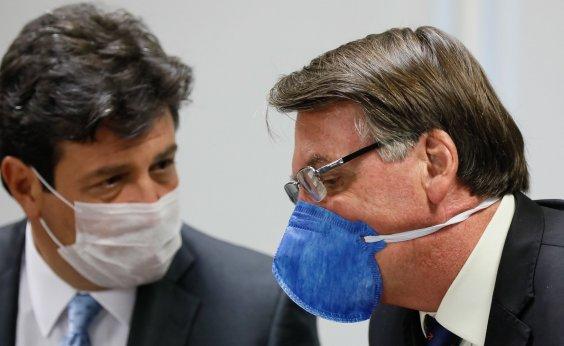 [Bolsonaro alfineta Mandetta: 'paciente pode trocar de médico']