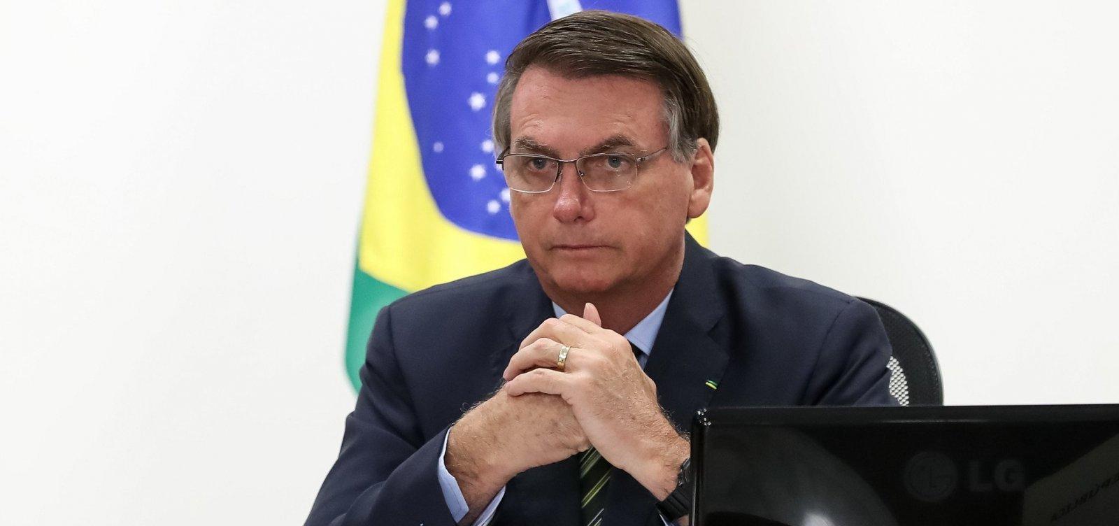 [Bolsonaro quer recorrer de decisão do STF que libera decisão de estados e municípios sobre isolamento]