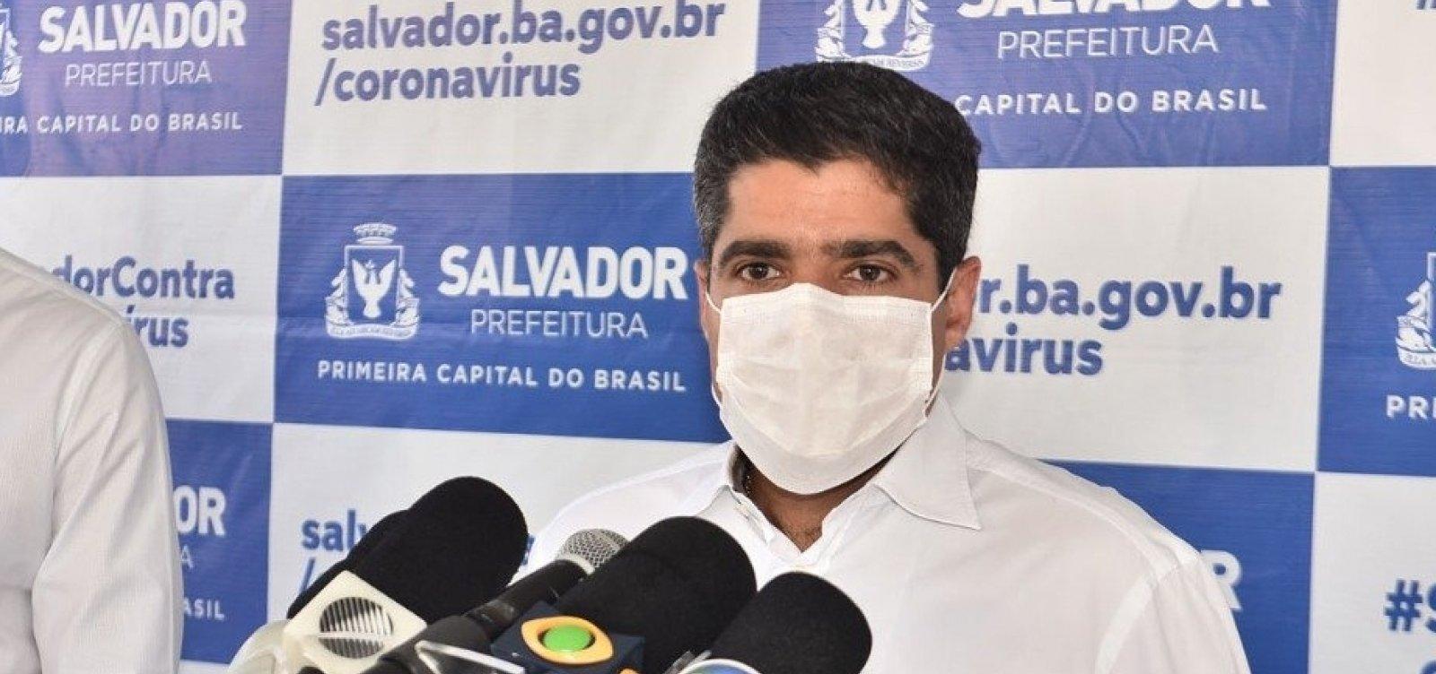 [ACM Neto anuncia 39 novos leitos de UTI para pacientes com Covid-19 em Salvador]