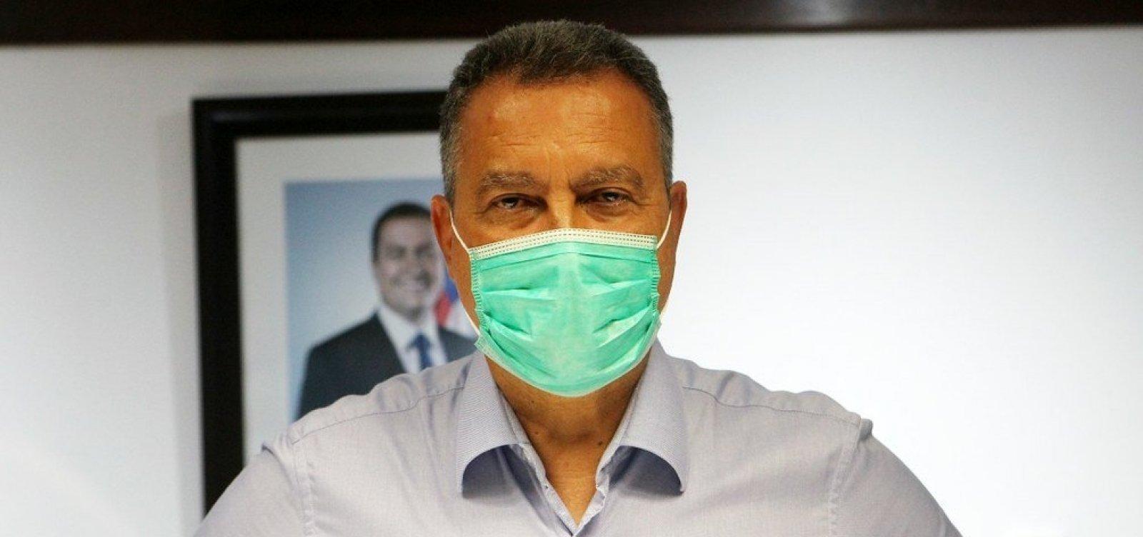 [Uso de máscara será obrigatório para todos na Bahia, anuncia Rui Costa]