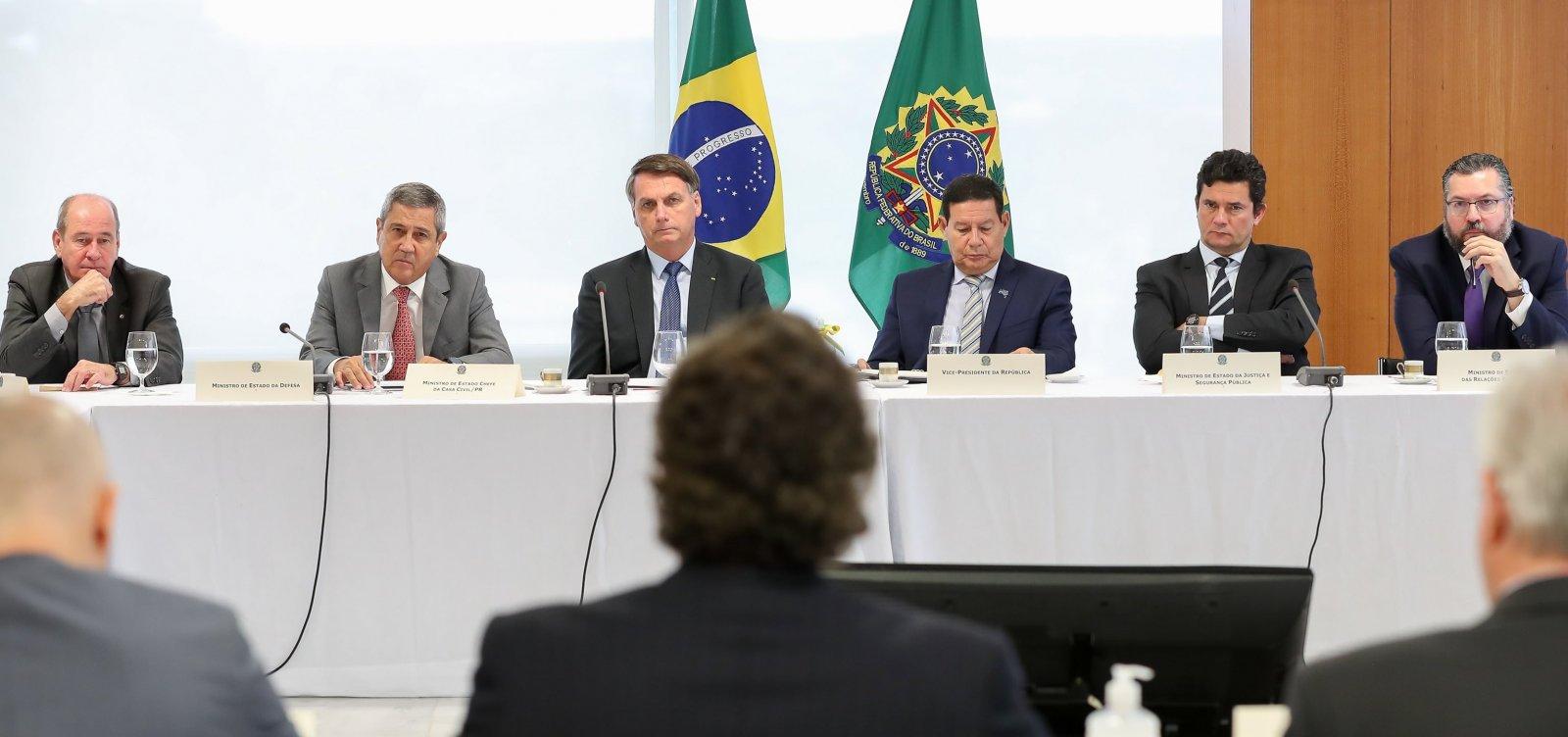 [Bolsonaro tenta criar base após derrotas no Congresso e abre negociação com centrão]