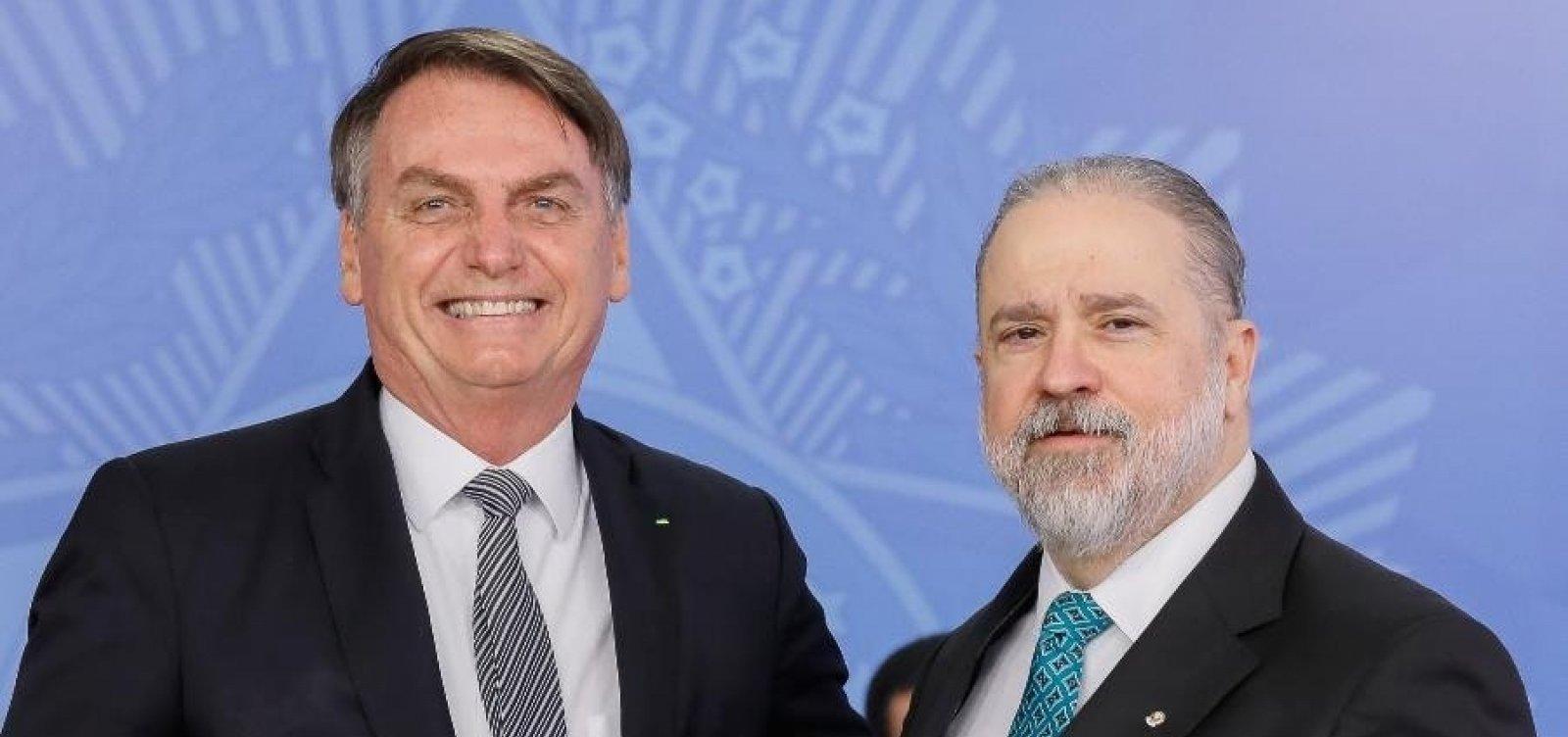 [Aras pede inquérito contra Bolsonaro no STF para apurar crimes em interferência na PF]