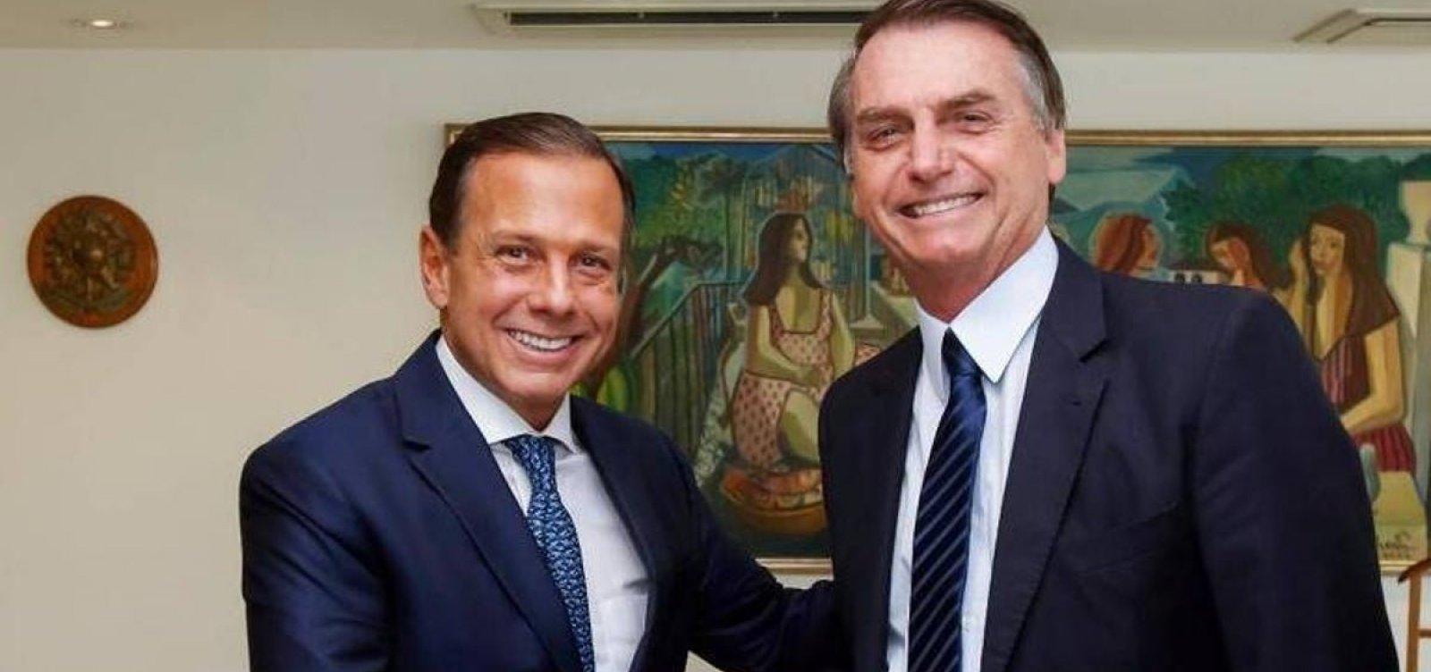 [Bolsonaro cobrava investigações da PF sobre Rodrigo Maia, Doria e Witzel]