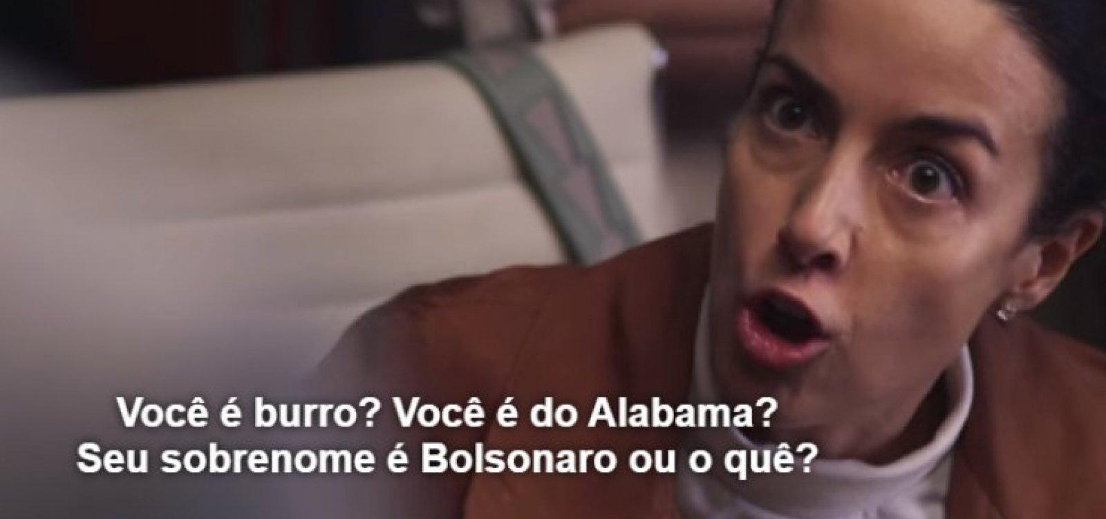[Série da Netflix usa nome 'Bolsonaro' como sinônimo de 'burro' ]