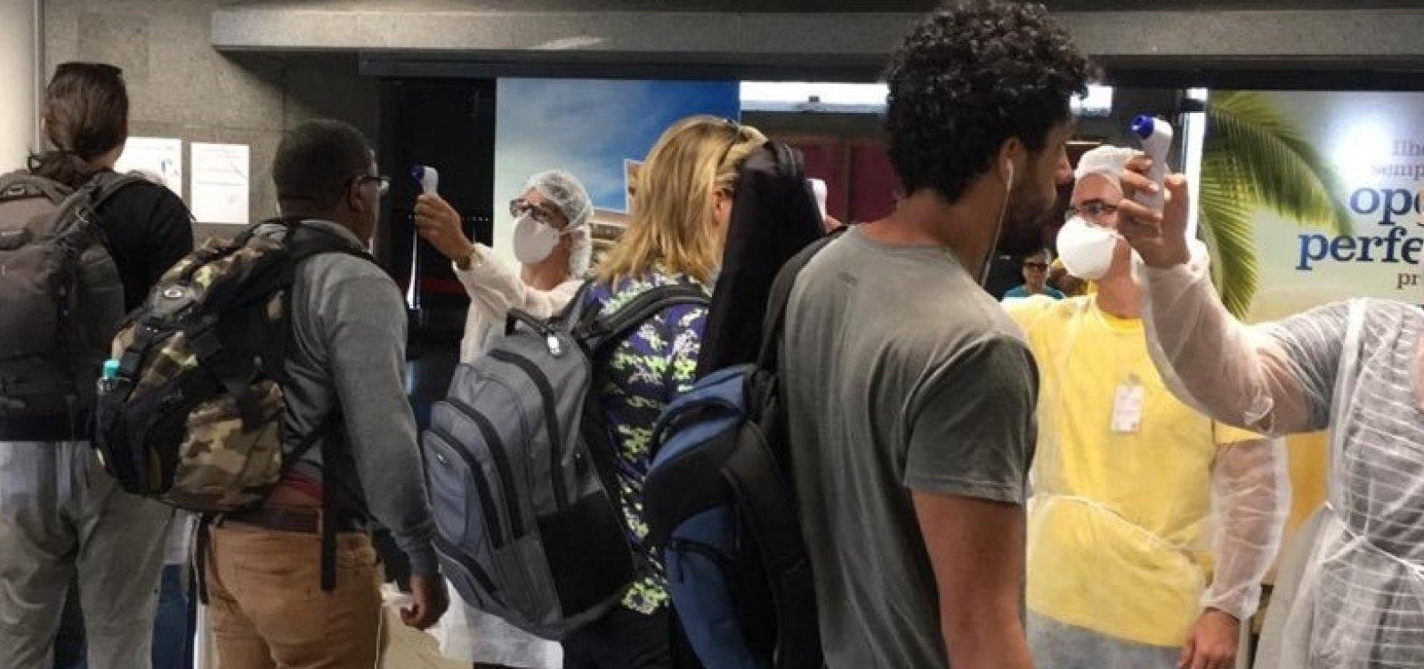 [Coronavírus: governo restringe entrada de estrangeiros via aeroportos por mais 30 dias]