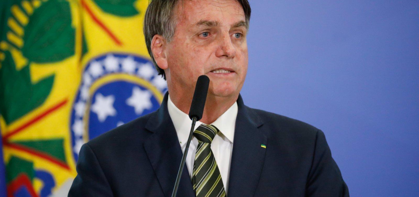 [Bolsonaro ataca Moraes e chama de 'política' decisão do STF que barrou Ramagem na PF]