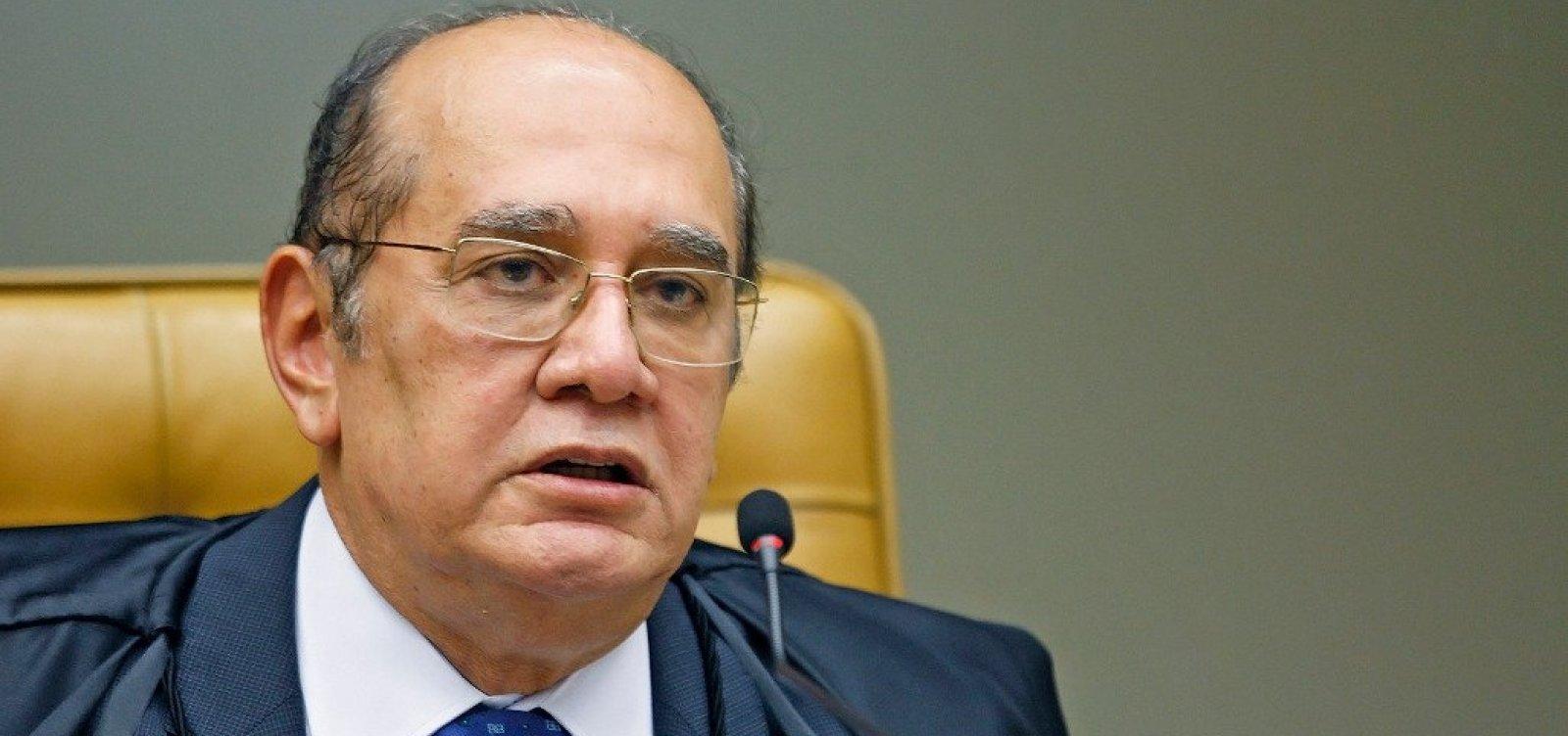 [Gilmar Mendes rejeita ação de Eduardo Bolsonaro contra CPI das Fake News]