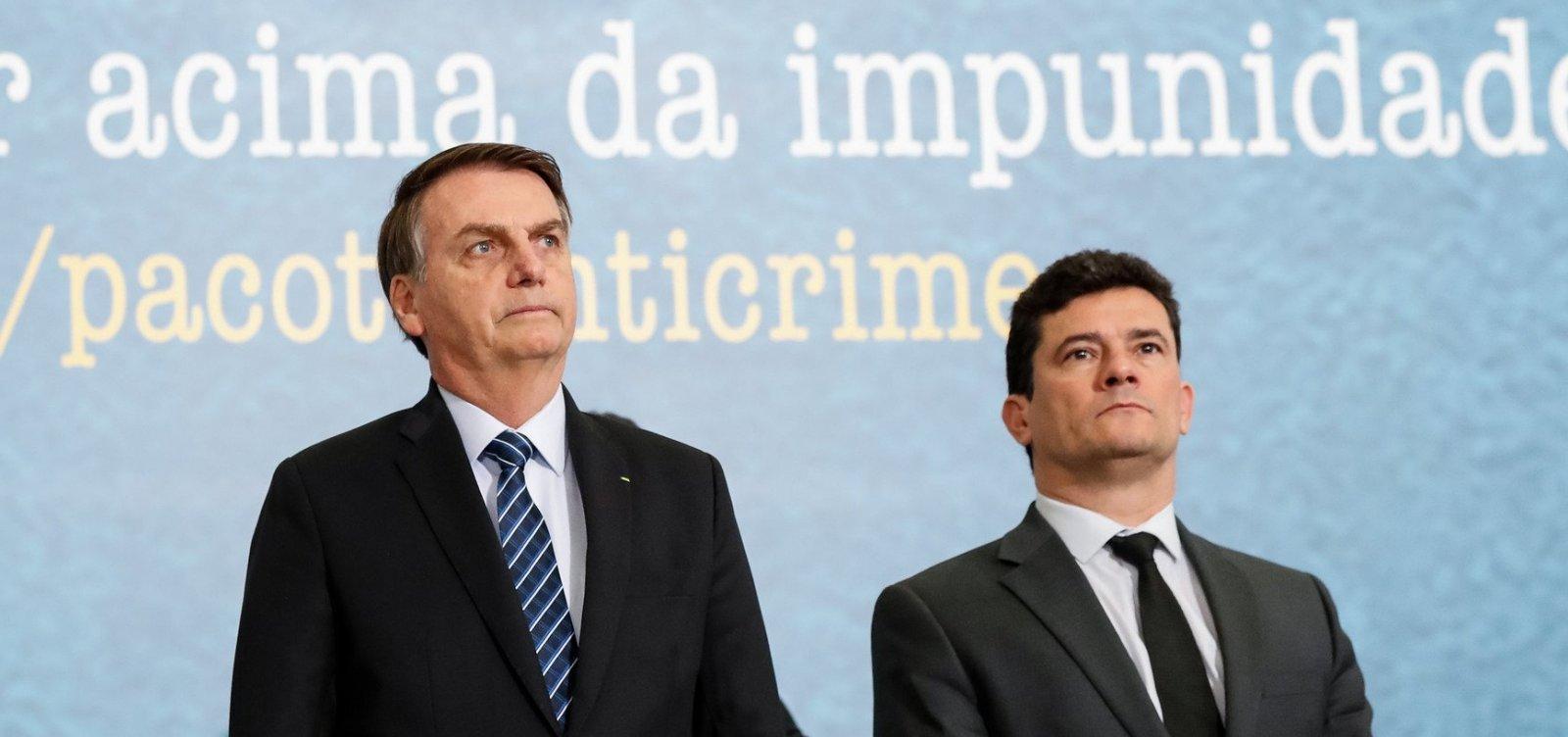 [ Moro tem dossiê com histórico de 15 meses para provar denúncia contra Bolsonaro]
