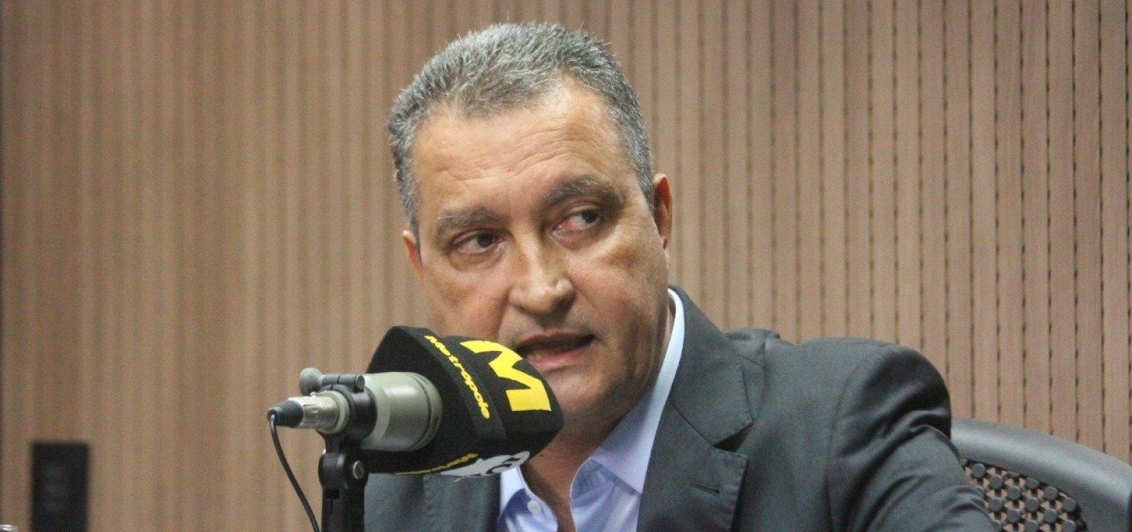 [País está pagando preço altíssimo pelo erro na eleição de Bolsonaro, diz Rui Costa]
