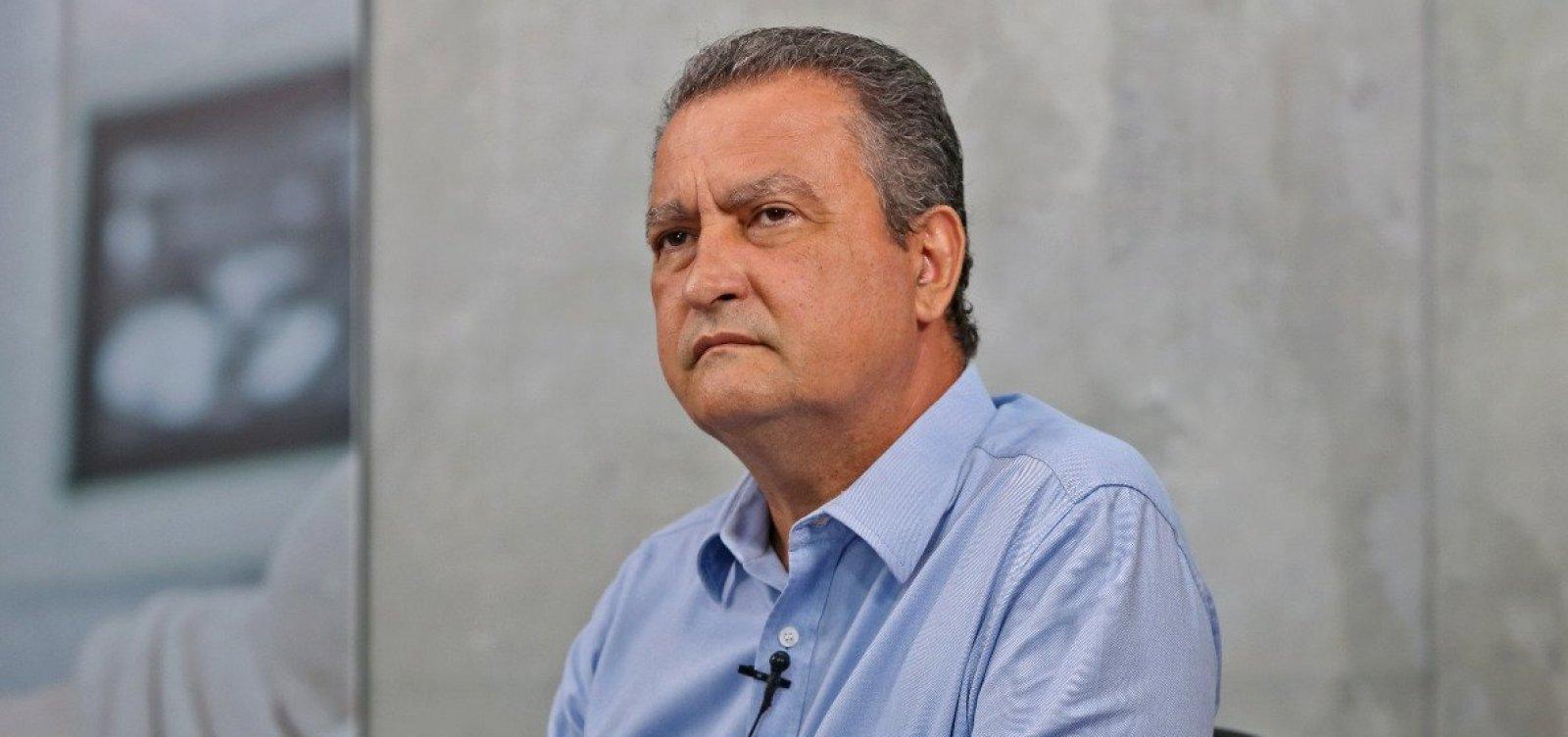 [Bahia não terá recursos até final de maio se taxa de contaminação continuar alta, estima Rui]