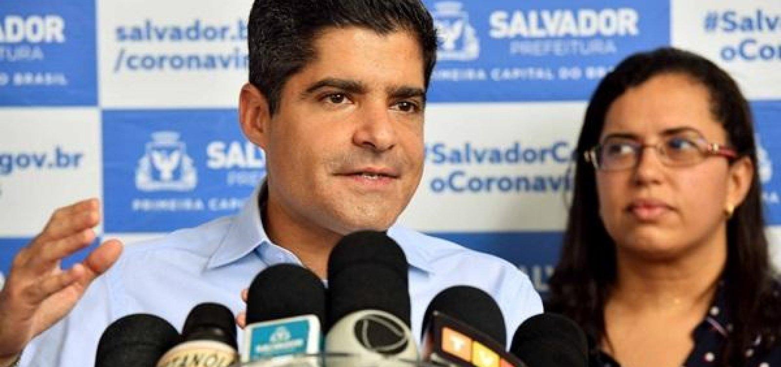 [ACM Neto condena ato de Bolsonaro: 'Quem está salvando o Brasil são os prefeitos e governadores']