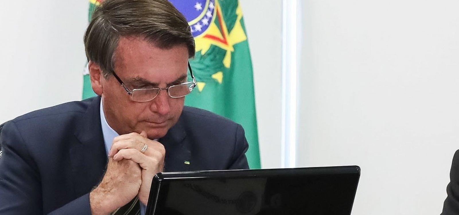 [Instagram oculta post de Bolsonaro com fake news sobre coronavírus]