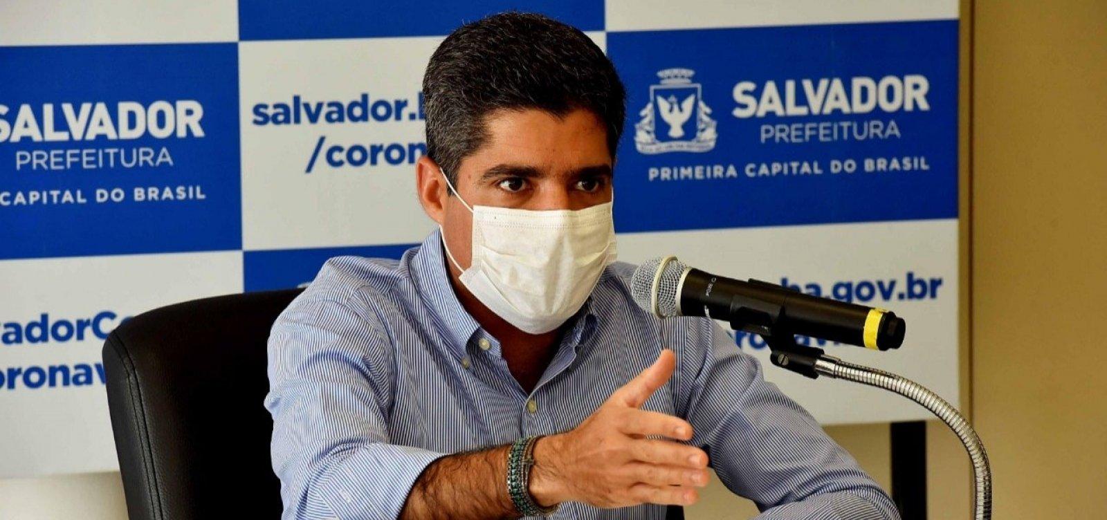 [Coronavírus: ACM Neto diz que mais de 70% dos leitos de UTI estão ocupados em Salvador]