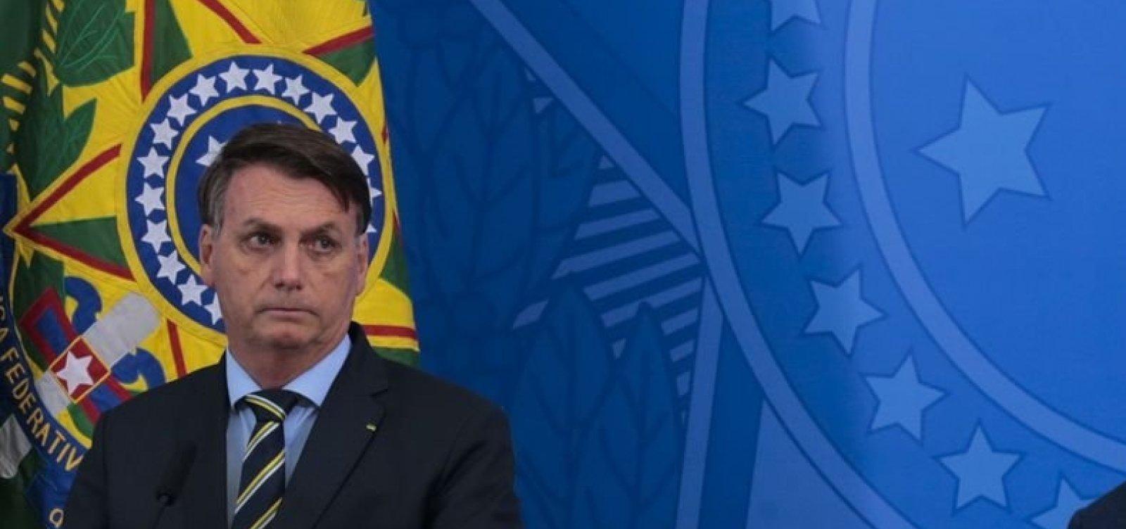 [Em reunião com ministros, Bolsonaro disse que troca na PF seria para proteger família]