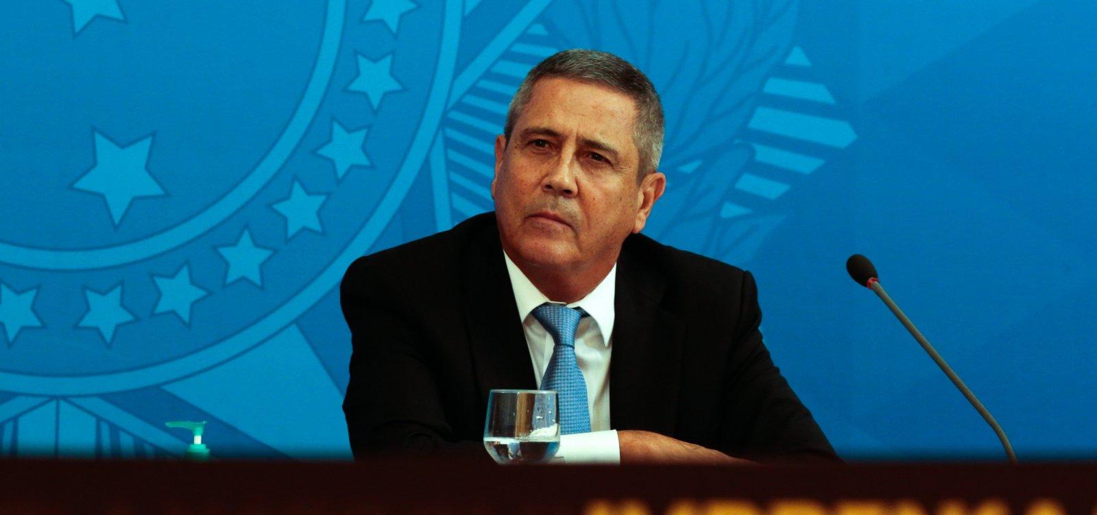 [Braga Netto reitera versão de Bolsonaro e diz que ele falou em trocar PF no Rio]