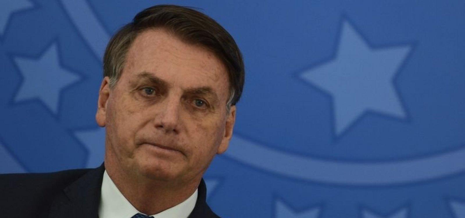 [Bolsonaro teve resultado negativo nos três testes para o novo coronavírus]