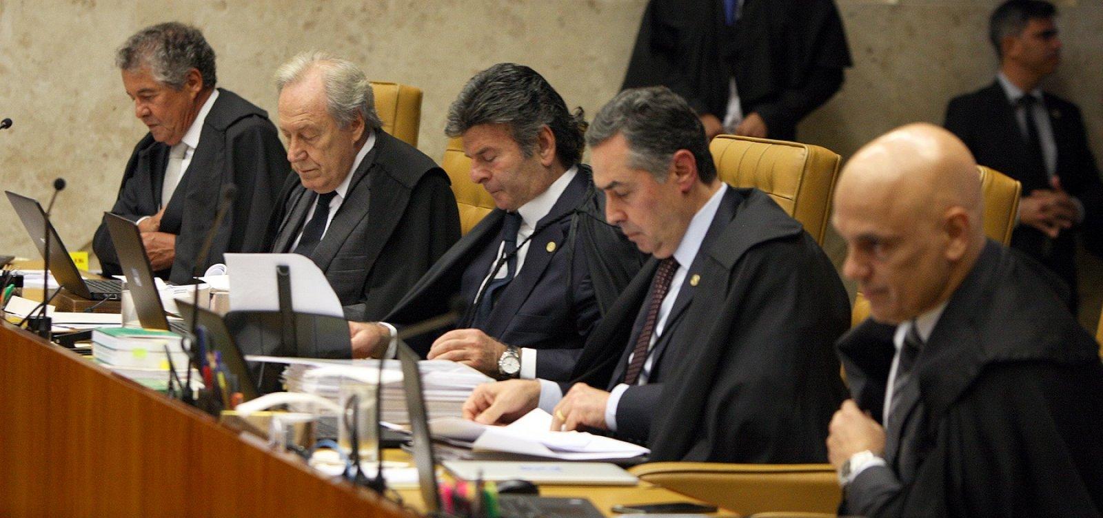 [Ministros Marco Aurélio e Alexandre Moraes batem boca no STF; veja]
