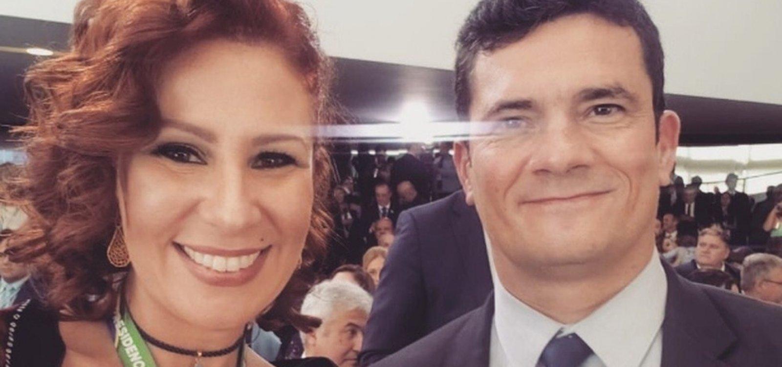 [Deputada propôs a Moro acertar com Bolsonaro vaga de ministro no STF: ele 'vai cair se o sr. sair']