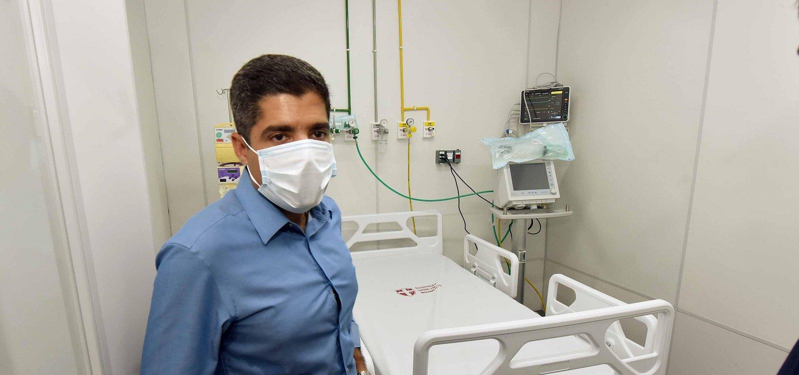 [ACM Neto não está infectado pelo novo coronavírus; prefeitura apresenta exames]