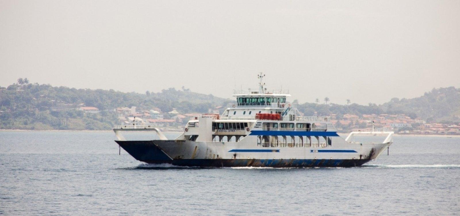 [Sistema Ferry-boat determina obrigatório o uso de máscara]