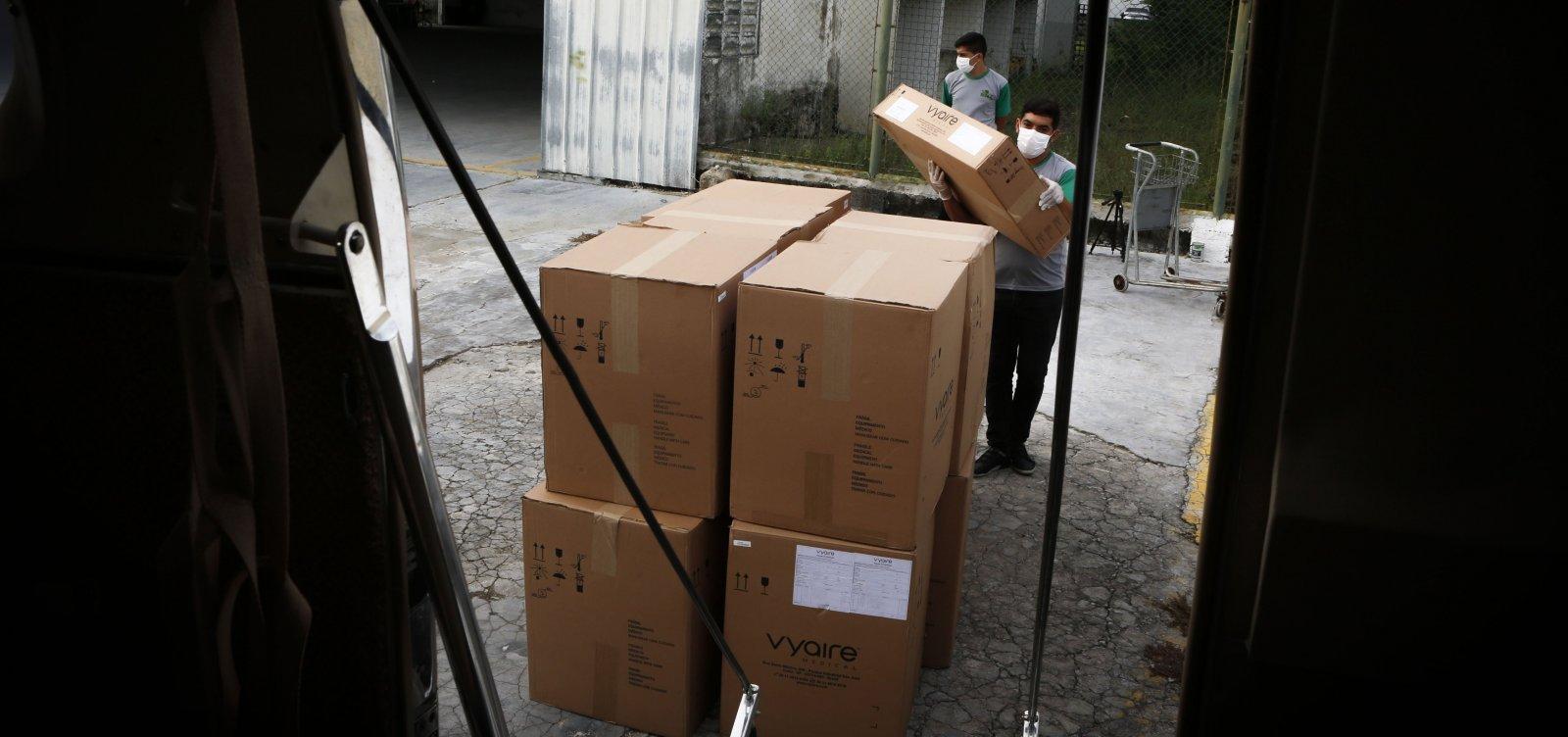 [Após ação da Procuradoria e da Promotoria, Ceará recebe 20 respiradores para enfrentar pandemia]
