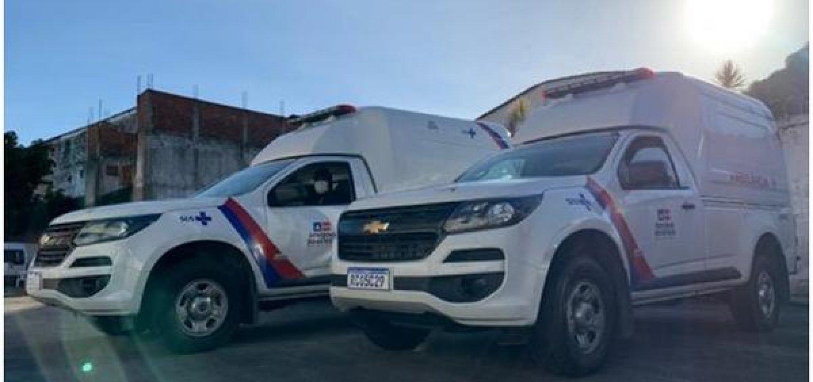 [Governo entrega ambulâncias em 24 municípios baianos para combate ao coronavírus]