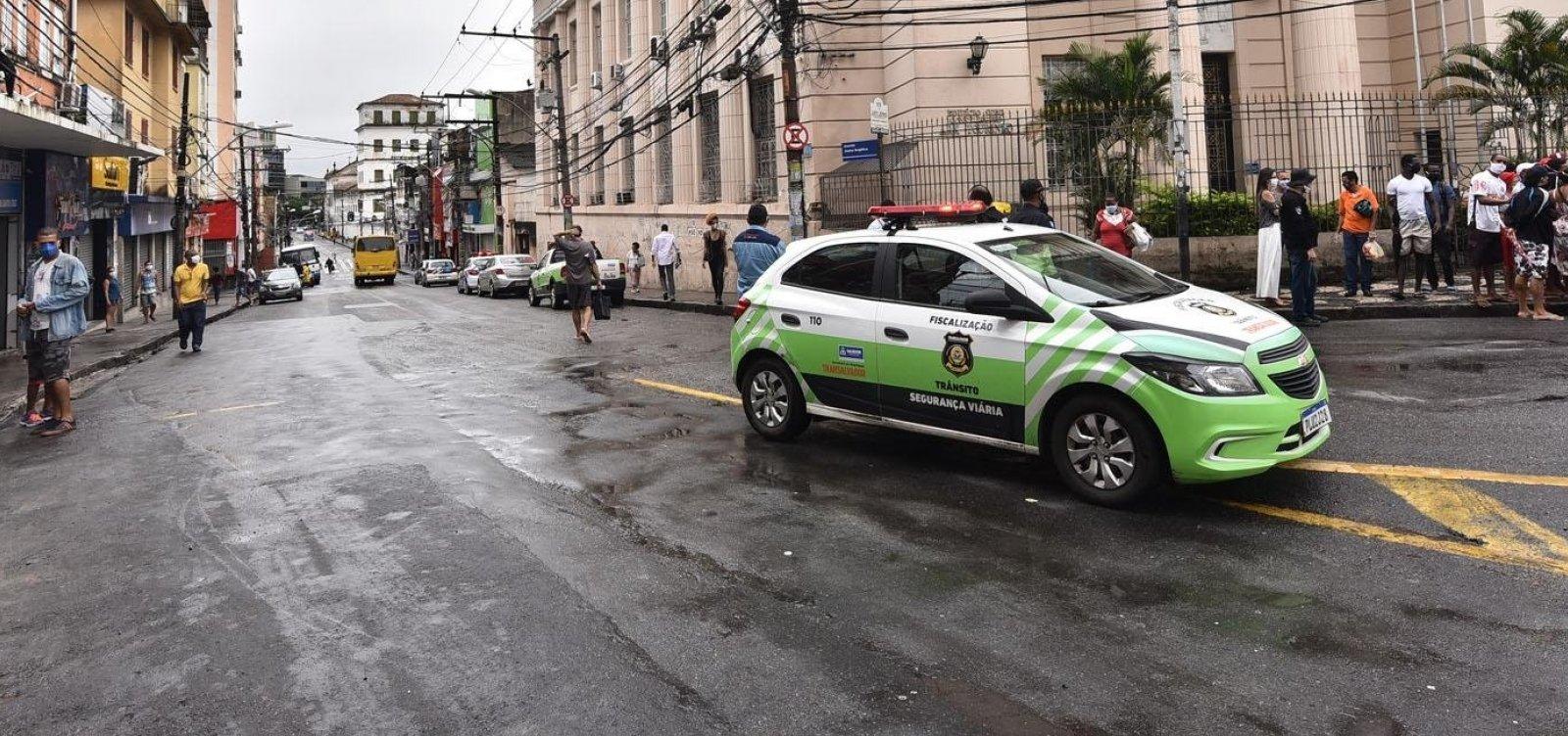[Transalvador estuda rodízio em Salvador após relaxamento de isolamento na capital]