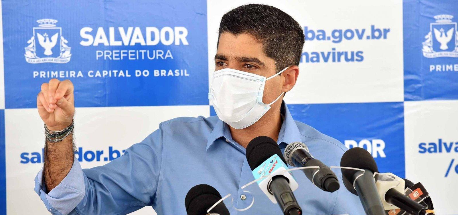 [ACM Neto prevê colapso na rede de saúde em Salvador para esta semana]