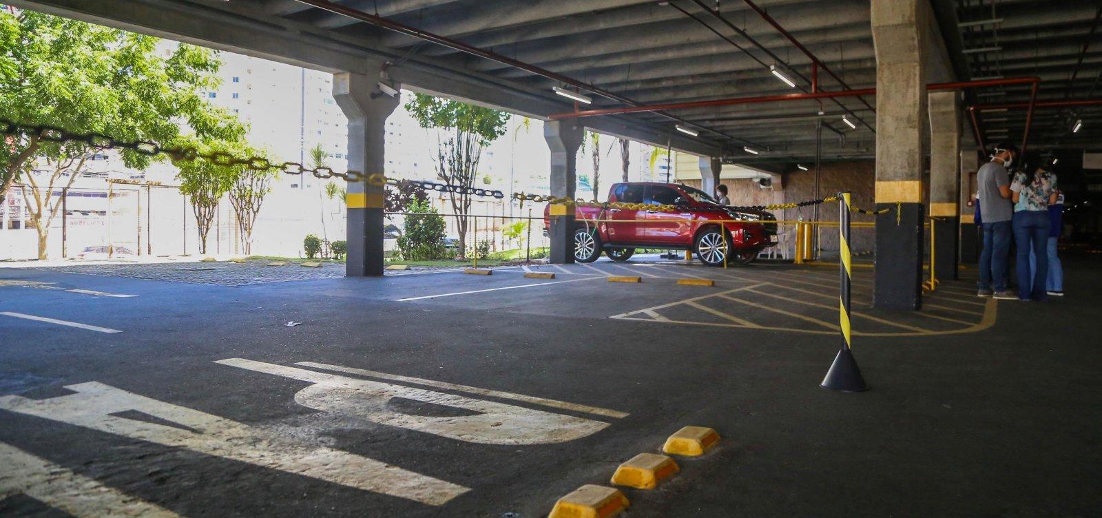 [Shoppings de Salvador vão poder funcionar em modalidade drive-thru]