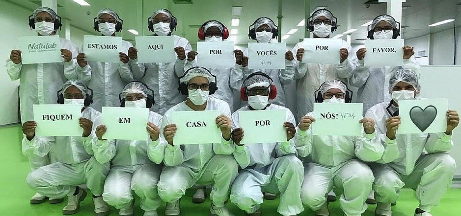 [Fábrica de remédios na Bahia fecha após ter quatro funcionários infectados com coronavírus]