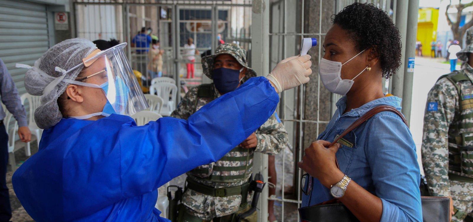 [Salvador vai fazer mais de 31 mil testes de Covid-19 em profissionais de saúde, seguranças e outros servidores]