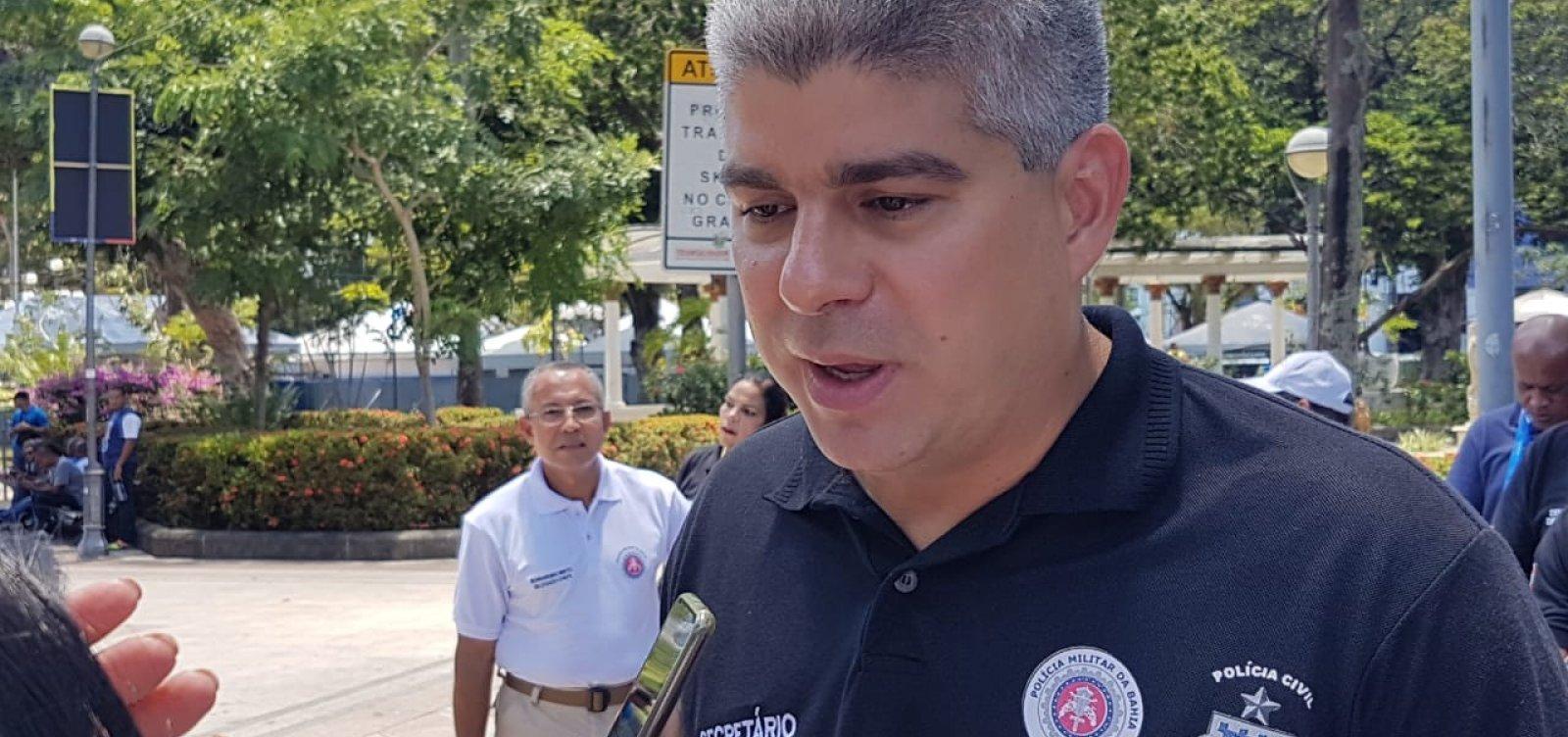 [Secretário de Segurança Pública, Maurício Barbosa está com Covid-19 ]