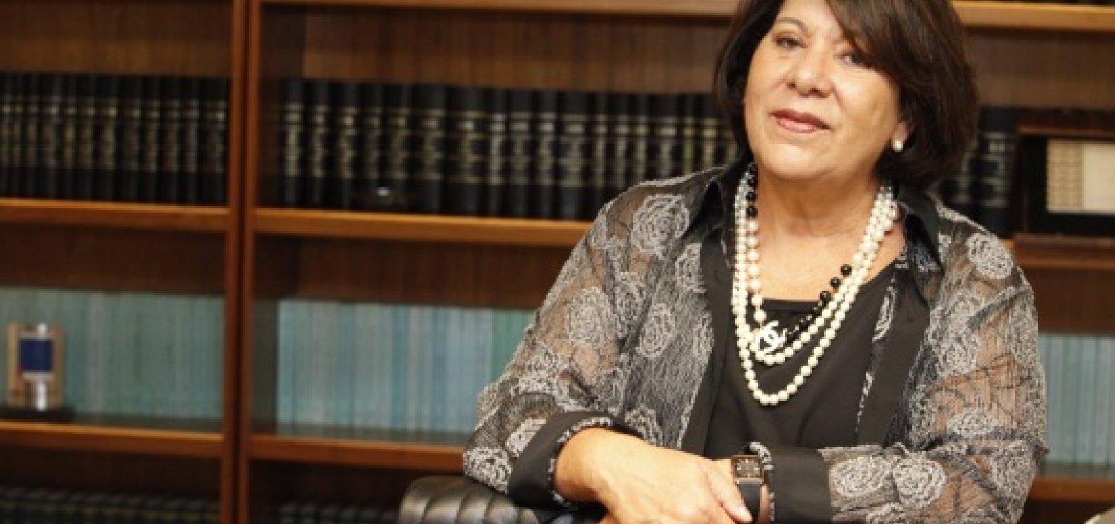 [Eliana Calmon diz que Bolsonaro 'não tem preparo necessário para ser maestro da orquestra']