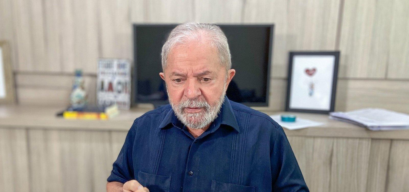 ['Ainda bem' que 'monstro' do coronavírus veio para demonstrar necessidade do Estado, diz Lula]