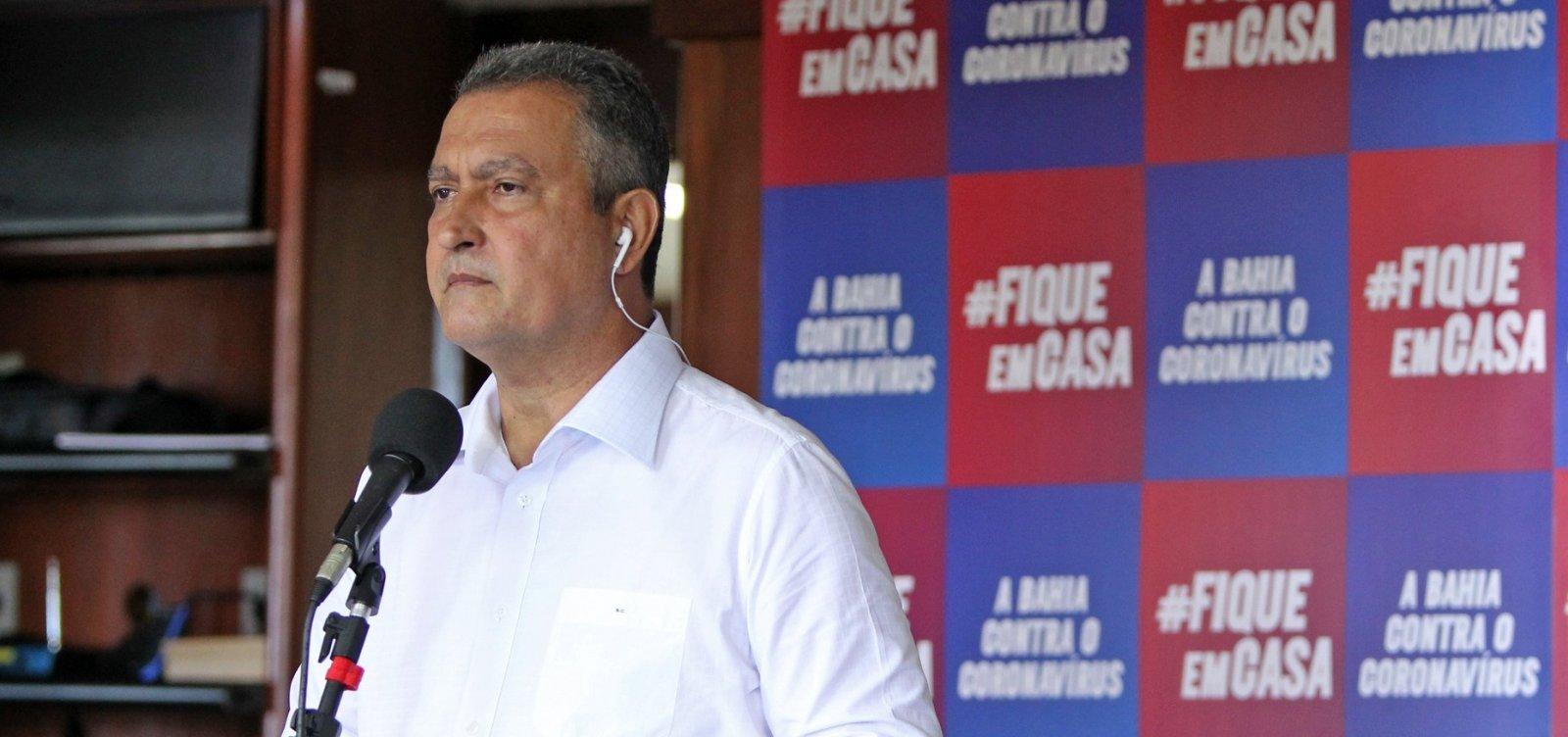 [Rui rebate pressão de Bolsonaro pela cloroquina: 'Na Bahia, quem passa receita não são os políticos']
