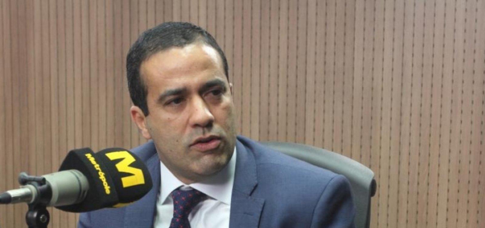 [Vice-prefeito de Salvador, Bruno Reis tem teste de Covid-19 negativo]