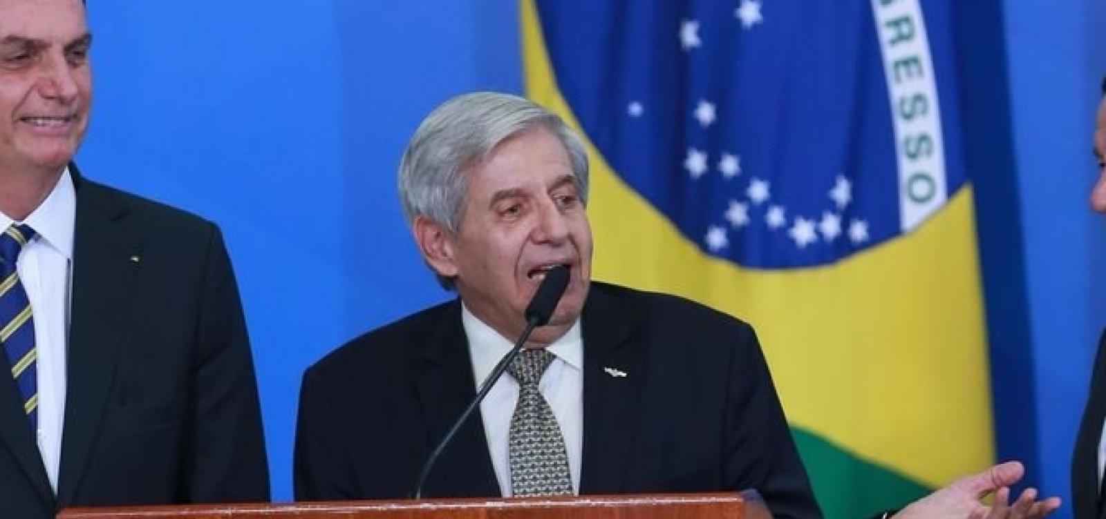 [Políticos reagem à fala de Augusto Heleno sobre apreensão de celular de Bolsonaro]