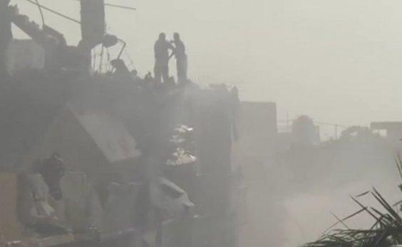 [Caixa preta confirma que só 2 pessoas sobreviveram a acidente aéreo no Paquistão]