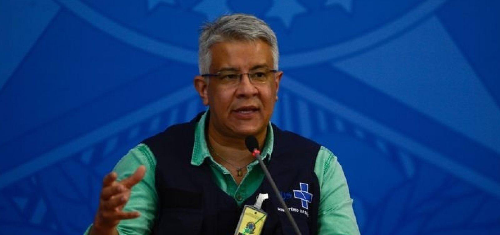 [Secretário de Vigilância em Saúde do ministério, Wanderson Oliveira deixará pasta]