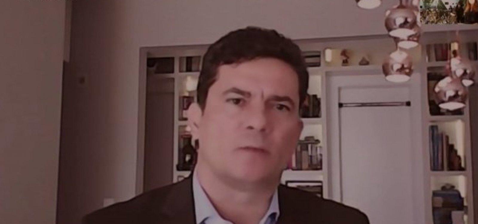 [Moro diz que Bolsonaro não apoiou o combate à corrupção no governo]