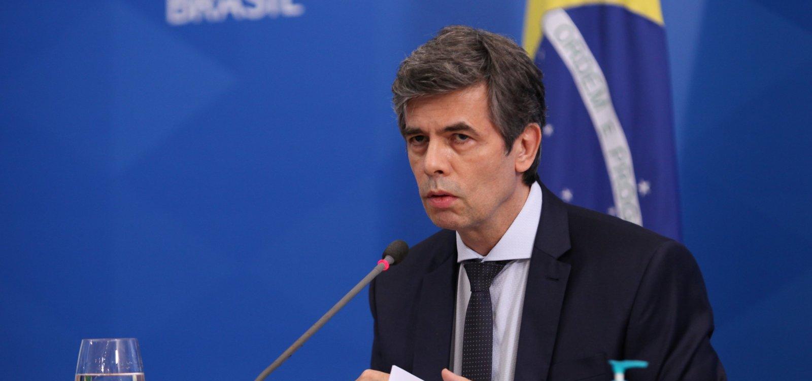 [Teich diz que divergência sobre cloroquina motivou pedido para sair do Ministério da Saúde]