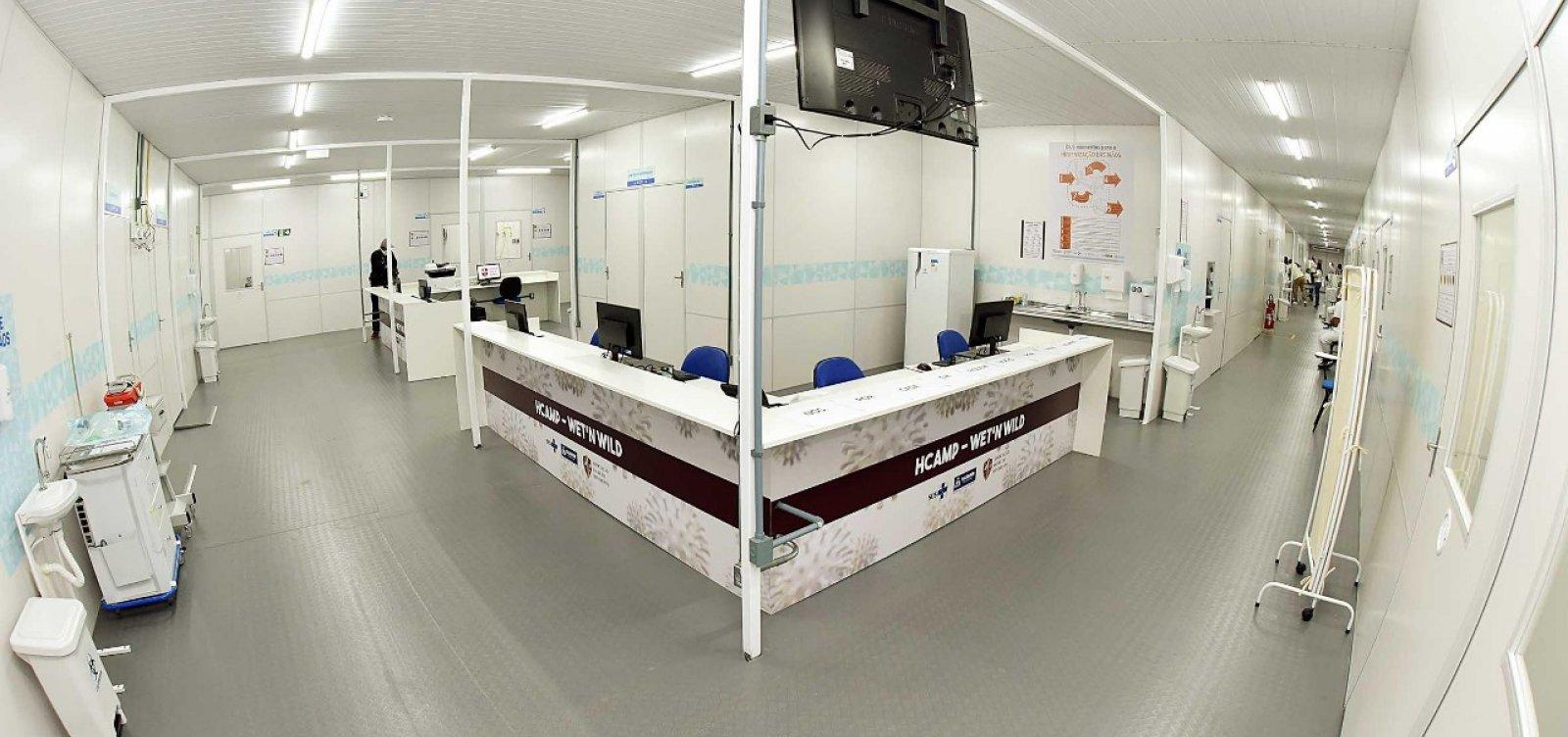 [Hospitais de campanha em Salvador já realizaram mais de 150 atendimentos ]