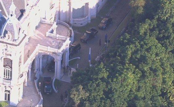 [Polícia Federal cumpre mandados na residência oficial do governador do Rio de Janeiro]